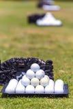 Piłki golfowe obraz royalty free