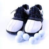 piłki grać w golfa buty Obraz Stock