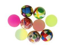 piłki gumowe Zdjęcie Stock