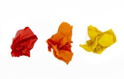 piłki miący papier Zdjęcie Royalty Free