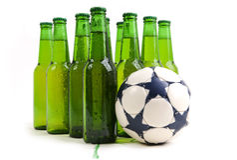 Piłki nożnej Drużyna Zdjęcia Royalty Free