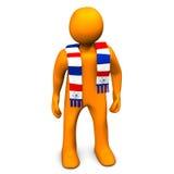 Piłki nożnej fan Obraz Royalty Free