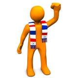 Piłki nożnej Fan Zdjęcie Stock