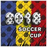 Piłki nożnej filiżanka 2018 Fotografia Stock