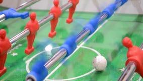 Piłki nożnej (futbol) gemowy zbliżenie, rozrywki różnorodność, zbiory wideo
