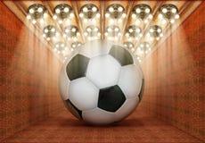 Piłki nożnej muzeum Fotografia Stock