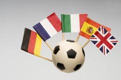 Piłki nożnej piłka obrazy stock