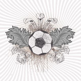 Piłki nożnej piłka Zdjęcie Stock