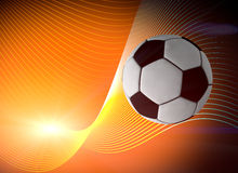 Piłki nożnej piłki tło ilustracja wektor