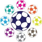Piłki nożnej piłki wektor royalty ilustracja