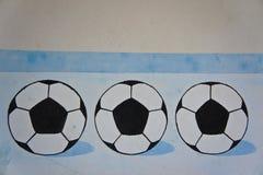 Piłki nożnej piłki wizerunek obrazy stock