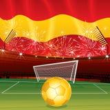 piłki nożnej spanish Fotografia Royalty Free