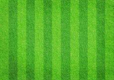 Piłki nożnej trawy futbolowy pole zdjęcia stock