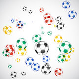 piłki piłka nożna Obrazy Royalty Free