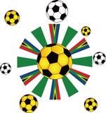 piłki piłka nożna Zdjęcia Royalty Free