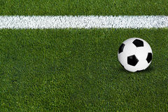 piłki piłka nożna Fotografia Stock