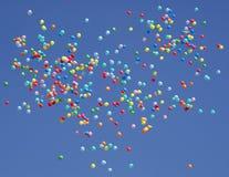 piłki tworzący latający kierowy kontur Zdjęcie Stock