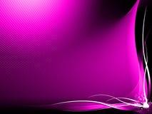 αφηρημένο μαύρο ροζ ανασκό&pi Στοκ Φωτογραφίες