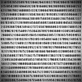 编号pi 免版税库存图片