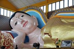 Śpi Buddha obrazy royalty free