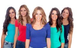 Pięć dobrych przyjaciół Zdjęcie Royalty Free