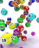 piłek bingo colouored set Obraz Royalty Free
