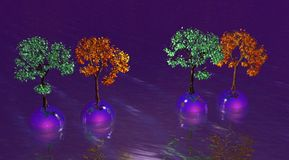 piłek drzewa Fotografia Royalty Free