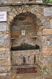 Pić fontannę przy maryja dziewica świątynią blisko Ephesus Obraz Stock