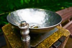 Pić fontanny w parku Obrazy Stock