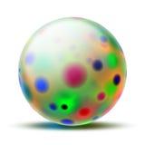 piłka abstrakcyjna Zdjęcie Stock