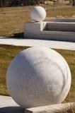 piłka betonu Obrazy Royalty Free