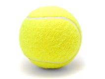 piłka biel odosobniony tenisowy Fotografia Stock