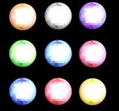 piłka cristal Ilustracja Wektor