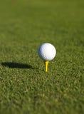 piłka do golfa tee Zdjęcia Royalty Free