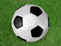 piłka futbolowa na Zdjęcie Stock