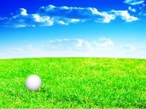 piłka golf ilustracji