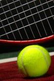 piłka kanta dworski tenis Zdjęcia Stock