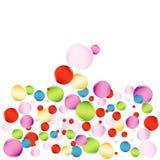 piłka kolorowa Zdjęcia Royalty Free