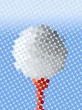 piłka w abstrakcyjne Obraz Royalty Free