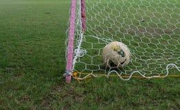 Piłka w celu Obraz Royalty Free