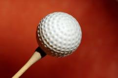 piłka w golfa Obraz Royalty Free