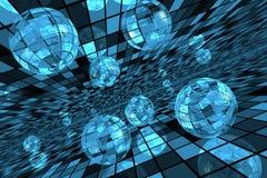 piłki futurystyczne Zdjęcia Stock