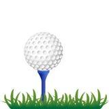 piłki golfa trawa Fotografia Royalty Free
