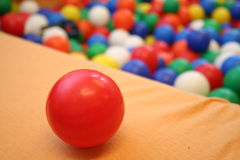 piłki kolorowe fotografia royalty free