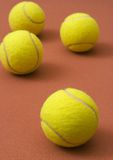 piłki tenisowe Zdjęcie Stock