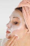 piękna 21 maska Fotografia Royalty Free