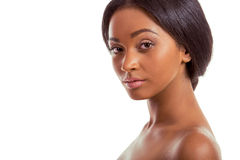 Piękna Afro amerykanina dziewczyna Obrazy Stock