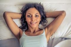 Piękna Afro amerykanina kobieta Obraz Stock