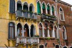 Piękna antyczna Wenecja architektury fasada Obraz Royalty Free
