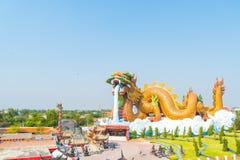 piękna architektura przy smoka muzeum w Suphanburi Obraz Royalty Free